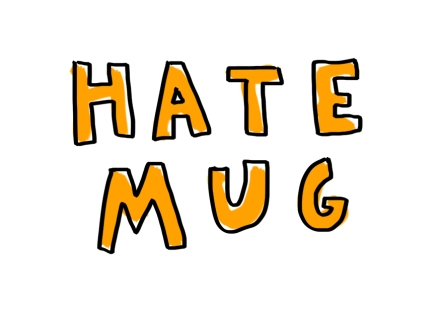 hate mug gift design merchesico