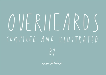 overheards london merchesico illustration
