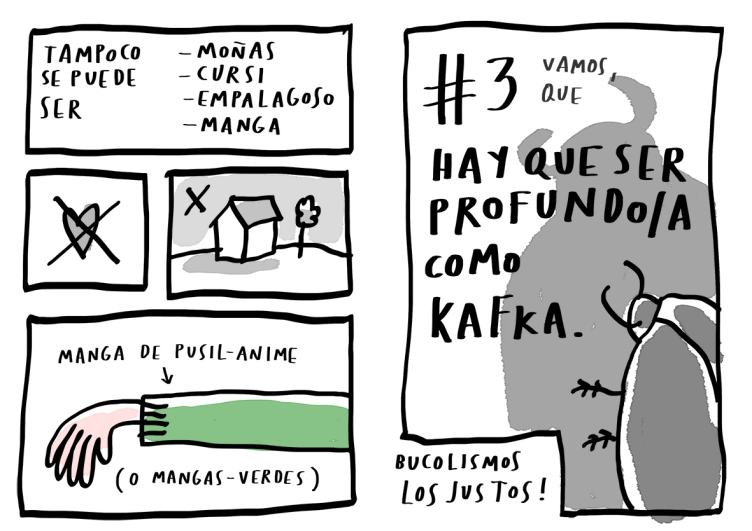 por que no haces un comic 5 merchesico cartoonist