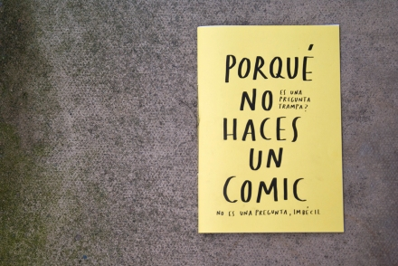 por que no haces un comic handmade zine merchesico spanish