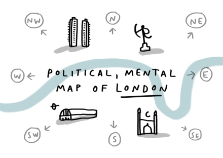 mental political map london project merchesico illustration