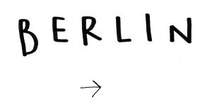 BERLIN ARTIST BOOKLET 1