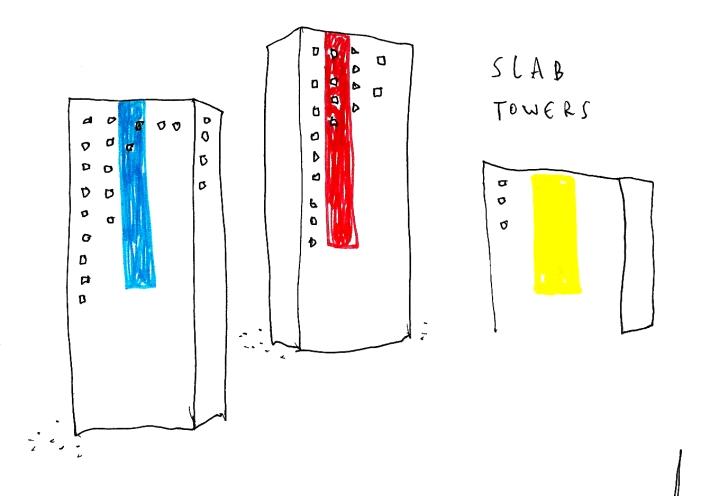BERLIN ARTIST BOOKLET slab towers