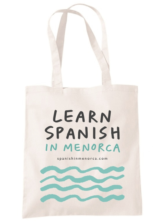 tote bag spanish menorca_mercedes leon design