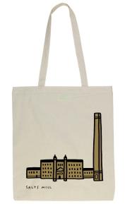 tote bag saltaire mercedes leon illustration radstudio