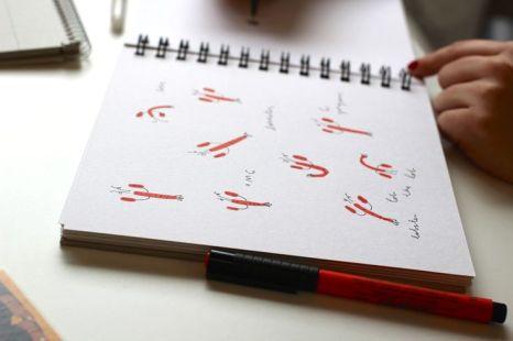mercedes leon illustration sketchbook lobster love m&S