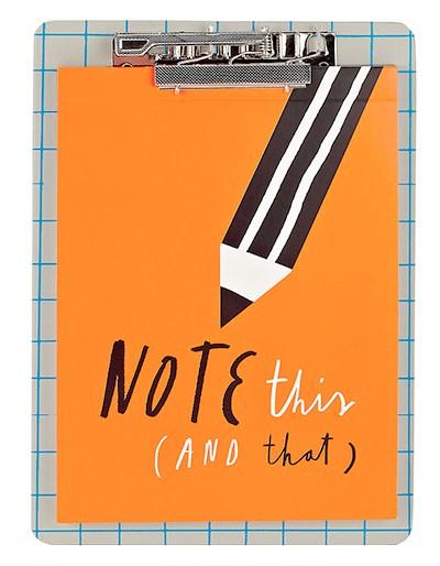 note this that pencil pad mercedes leon ilustracion