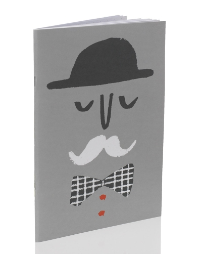 m&s stationery paper library moustache gentleman notebook merchesico mercedes leon