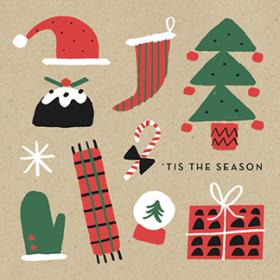 christmas icons marksandspencer fun classic mercedes leon illustration