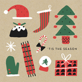 christmas icons marksandspencer fun classic mercedes leon illustration