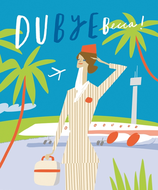 dubye-becca-custom-portrait-leaving-card-emirates-merchesico-illustration_sq
