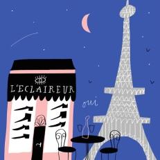 dv shoes cities paris france leclaireur mercedes leon illustration