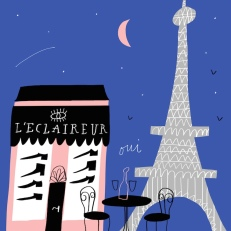 dv shoes cities paris france leclaireur mercedes leon illustration