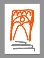 Barcelona gothic barri digital ipad postcard merchesico sketches