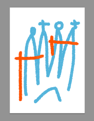 Barcelona sagrada familia postcard ipad sketches merchesico sketches copia